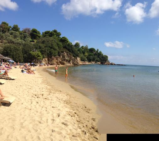 Kolios, Grecia: Spiaggia hotel