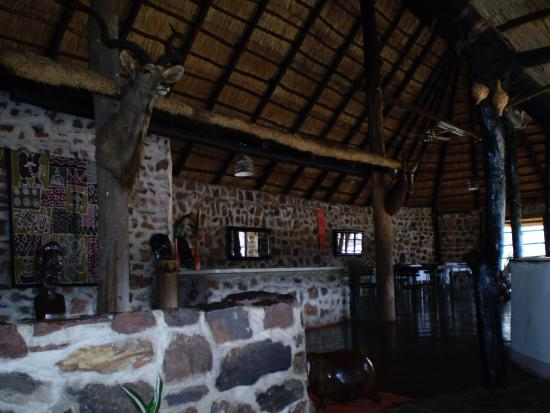 Kadoma, Zimbábue: main hotel area