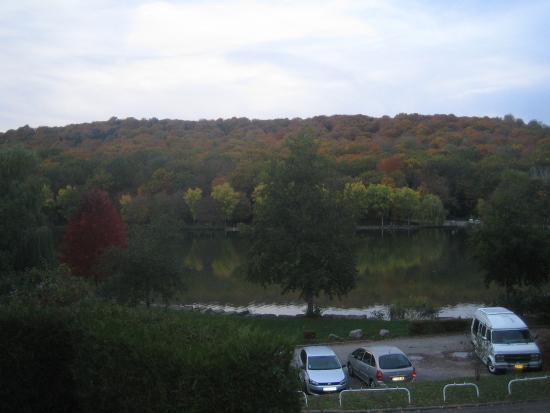 Hotel Restaurant des Lacs : Vue depuis la chambre