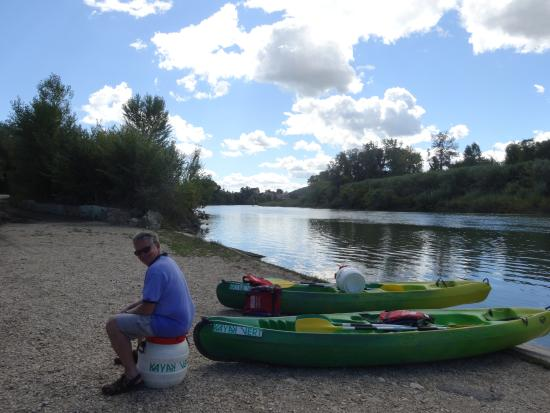Monte Arena : The end of a wonderful day canoeing to Pont du Gard