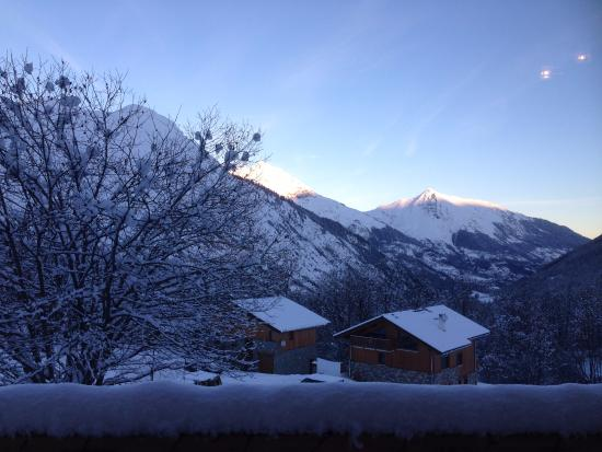 Chalet Alpage: Views from the Dinning Room
