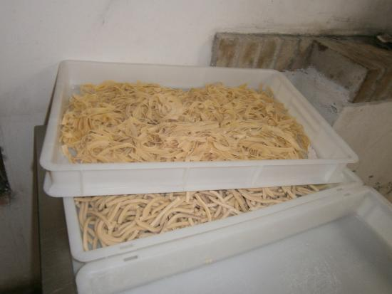 Pasta fatta in casa picture of agriturismo la palombara paola tripadvisor - Pasta fatta in casa ...