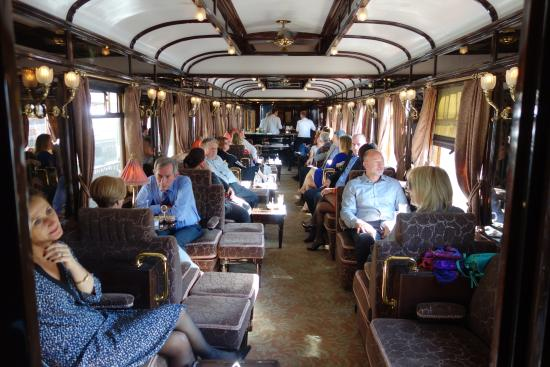 Bar Car Picture Of Venice Simplon Orient Express Day