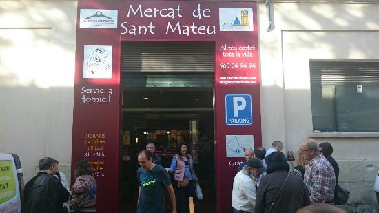 Mercat De Sant Mateu