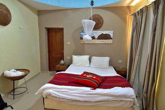 The Bedouin Moon Hotel: Room designed like a bedouin hut