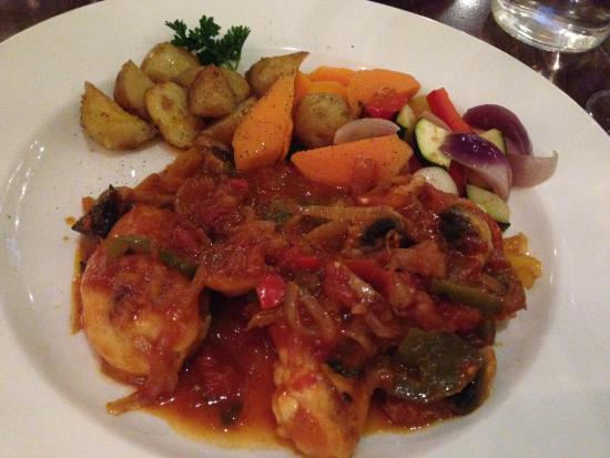 Grand Italia: Chicken dish