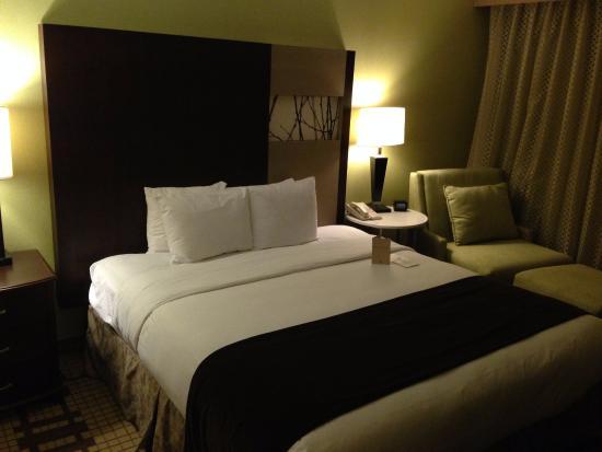 Bedroom of a 2-room suite