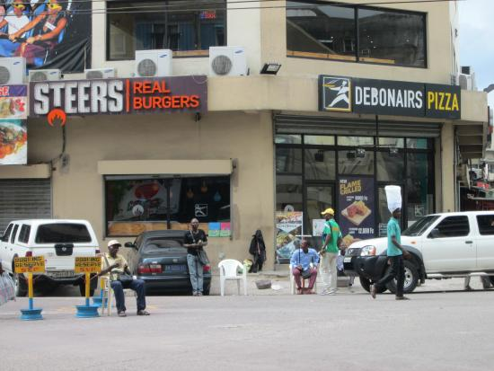 Steers and Debonairs are across from the Memling