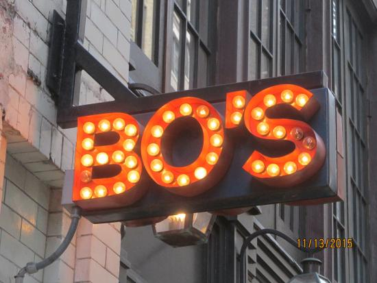 Bo S Kitchen Bar Room New York City Flatiron District