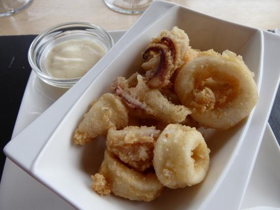 Galilea, Spania: calamari plated