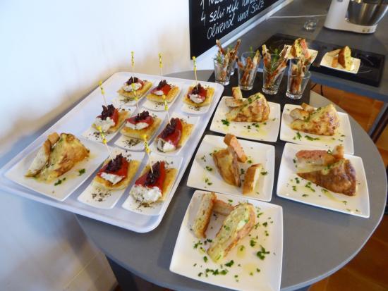 Galilea, Spanyol: plated tapas