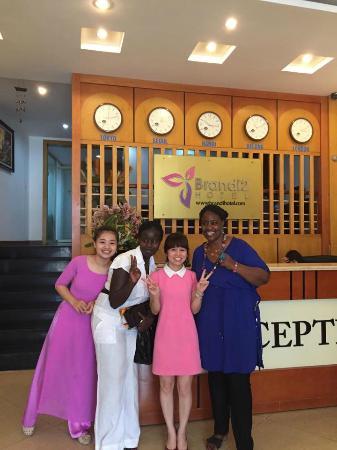 Brandi Hotel: VIP guest from Kenya (IPU 2015)