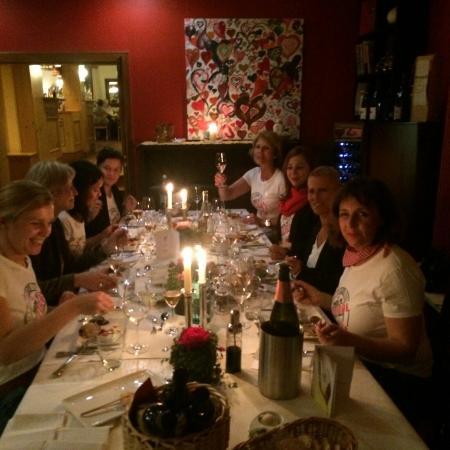 Adler Landhotel: Abendessen mit Freunden