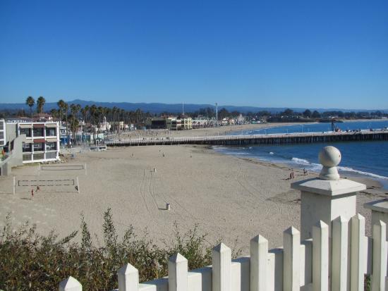 Sea & Sand Inn: view of Santa Cruz Boardwalk from hotel