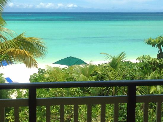 View From Our Balcony Picture Of Acajou Beach Resort Anse