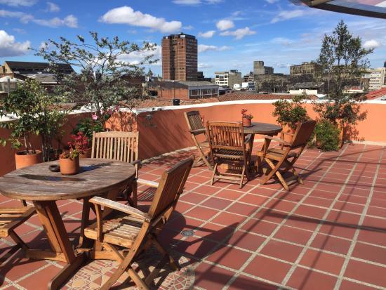 Hotel Casa Deco: Dachterrasse