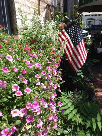 Northport, estado de Nueva York: Garden view