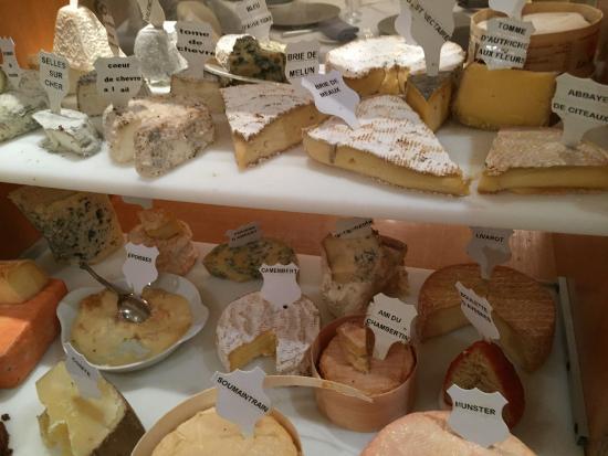 Hostellerie de la Mere Hamard: Plateau de fromages