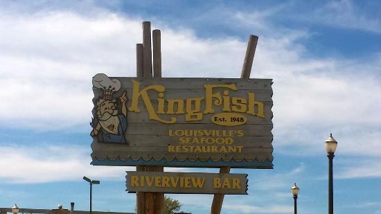 KingFish Restaurants : sign