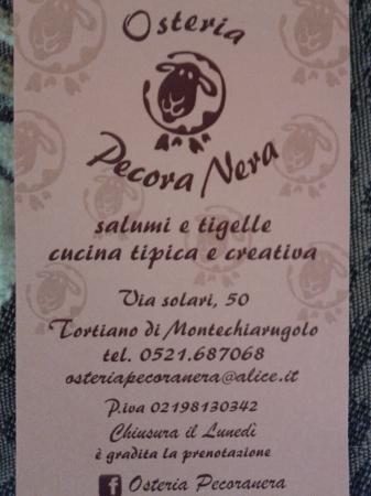 Osteria Pecora Nera : 20151115_173528_large.jpg