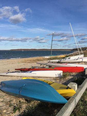 Havens Beach: Boats at Haven's Beach