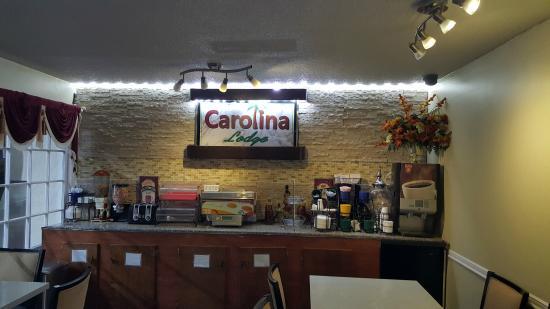 Barnwell, Carolina del Sur: Breakfast Area
