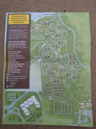 map 4 way stop and 1700 loop x marks our site 1718 picture