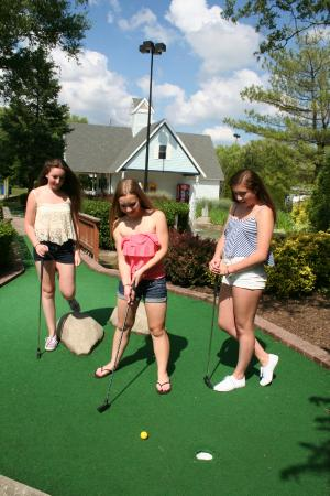 Medford, estado de Nueva York: Mini Golf with your friends and family