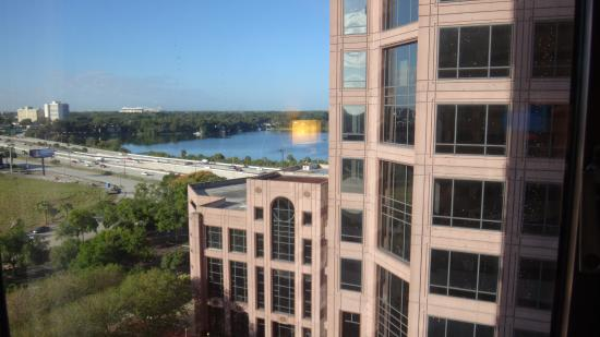 DoubleTree by Hilton Orlando Downtown: partial view from room