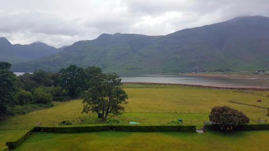 A view over the loch from my bedroom