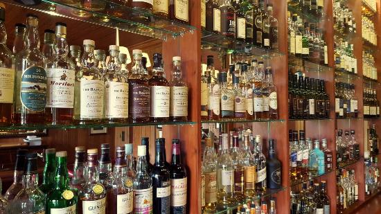 Torridon, UK: Lots of Scotch...