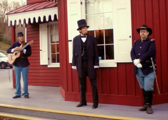 New Freedom, Пенсильвания: Lincoln at Hanover Junction
