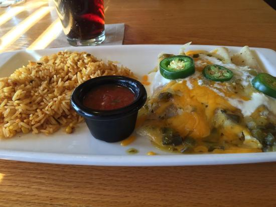 Forsyth, IL: Loaded Brisket Enchiladas