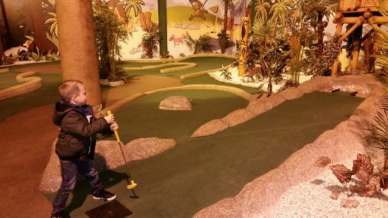 Paradise Island Adventure Golf Glasgow