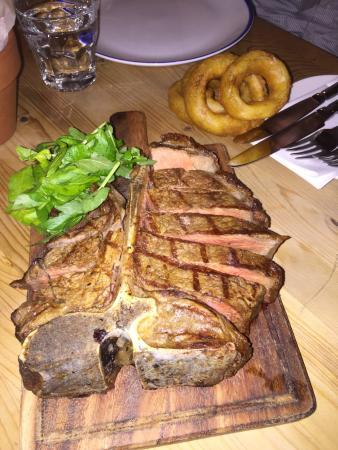 Ickham, UK: T Bone Steak