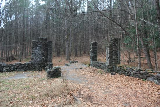 West Chesterfield, NH: the ruins