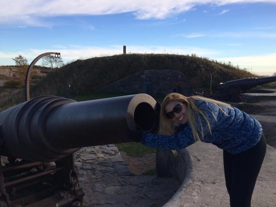 Fortaleza de Suomenlinna: canhao