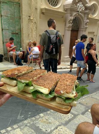 Piadina Caffe: 4 Euro focaccia