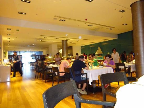 Atrium Hotel: Restaurante