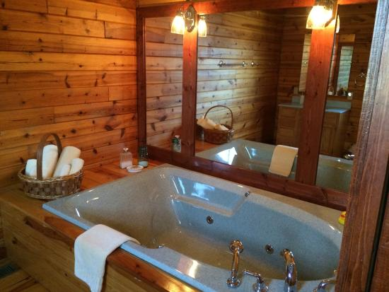 Cherryville, MO: 2 person jacuzzi tub