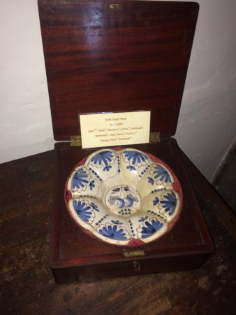 Jabez Howland House: Finger bowl used by Howland Family in 1600s