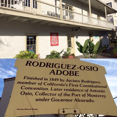 The Original Monterey Walking Tours: Rodriguez-Osio Adobe, 380 Alvarado St