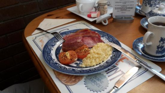 Great Moulton, UK : Das Frühstück - eine weitere Variation