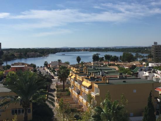 Hotel JS Sol de Alcudia: Meine Aussicht aus dem Zimmer