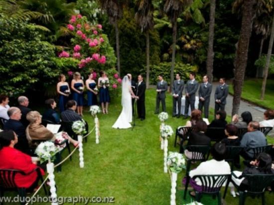 Wallaceville House : Wedding Ceremony Area