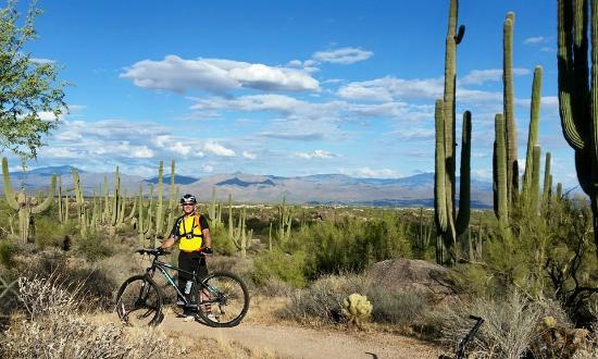 AZ Mountain Biking - Day Tours: MTB in Northern Scottsdale AZ