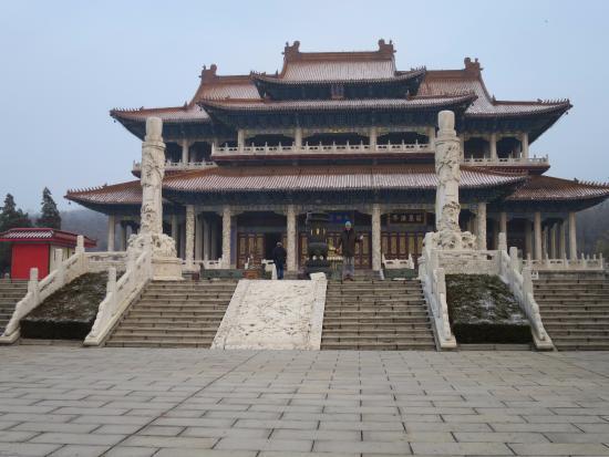 Anshan, Cina: temple