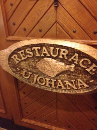 Penzion a Restaurace U Johana: Специальные блюда из гуся