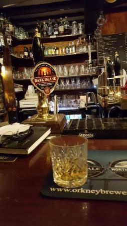 Happy birthday to me - a celebratory scotch at the Three Kings.