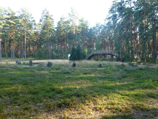 Pomerania Province, Polen: Kamienne kręgi